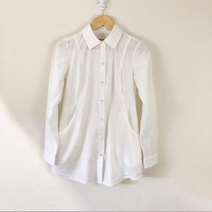 Mossimo Supply Co Lightweight White Blouse